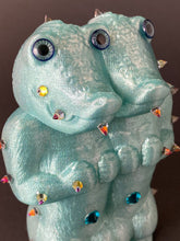 Load image into Gallery viewer, Double Headed Crocodile Ape: Glitter Teal