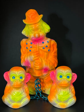 Clown with Monkeys: The Neon Whisper