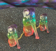 Load image into Gallery viewer, Elephant Apes: Chained Rainbow and Gold