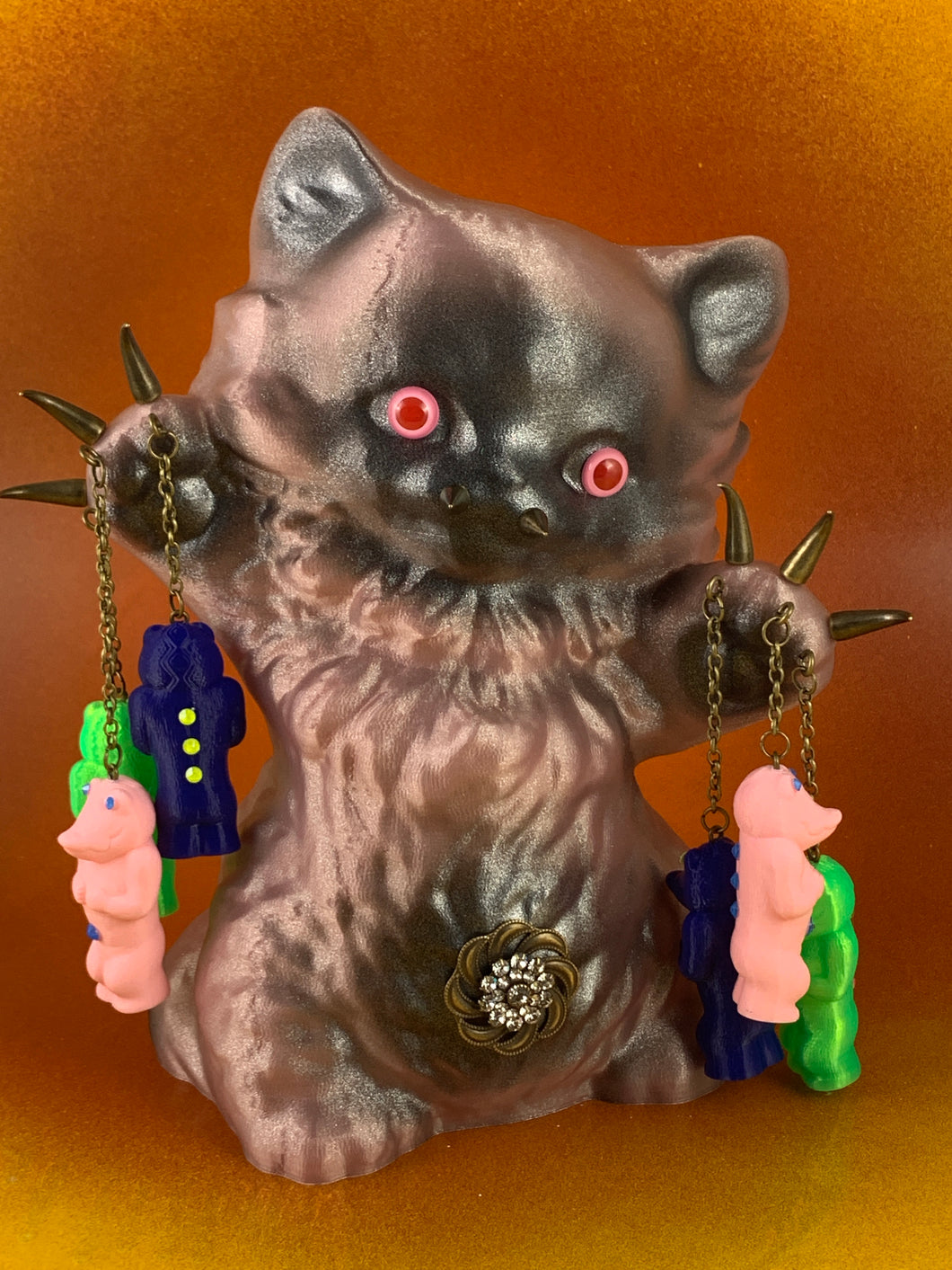 Pink Cat, Keeper of the Crocodile Ape Cult
