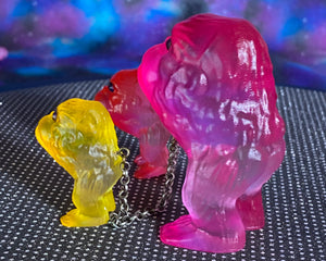Ape Hoppers: pink/red/yellow