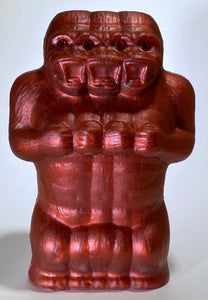 Freak of Nature 3 Headed Ape: Choose Your Own Resin Cast Freak