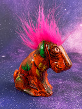 Load image into Gallery viewer, Mister Sad Dog with Good Pink Hair