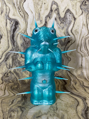 Crocodile Ape Cult: Blue and Silver Spike Worshipper