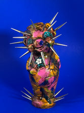 Load image into Gallery viewer, Spike Head Flower Power Pig