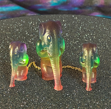 Elephant Apes: Chained Rainbow and Gold