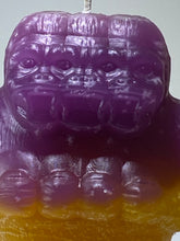 Load image into Gallery viewer, Zimot Novelty Candles: Purple/Yellow