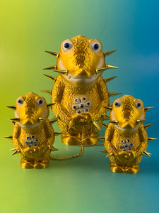 Golden Crocodile Headed Monsters