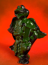 Load image into Gallery viewer, Harp Frog: Black and Green