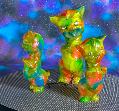 Twisty Pig Set: Neon Glow in the Dark