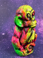 Load image into Gallery viewer, Creepy Neon Monkey