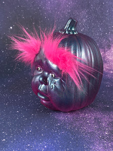 The Saddest Pumpkin with Bright Pink Eyebrows
