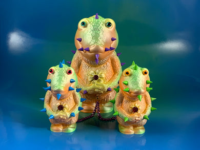 Metallic Pastel Croc Headed Monsters