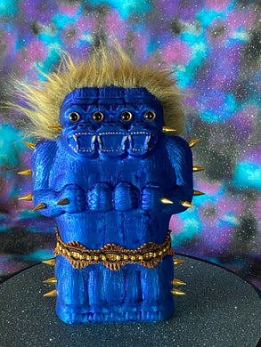 Freak of Nature 3 Headed Ape: Sparkle Blue