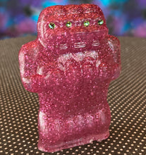 Load image into Gallery viewer, Freak of Nature 3 Headed Ape: Pink Glitter Cast