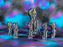 Load image into Gallery viewer, Silver Twisty Pig Family