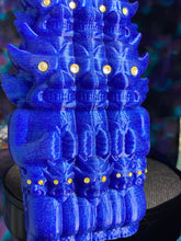 Load image into Gallery viewer, Aton Ape God of Space: Glitter Blue with Yellow Eyes