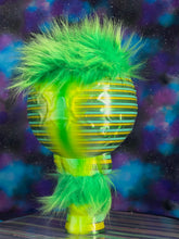 Load image into Gallery viewer, Moon Head Giant Head Freak: Green Stripes