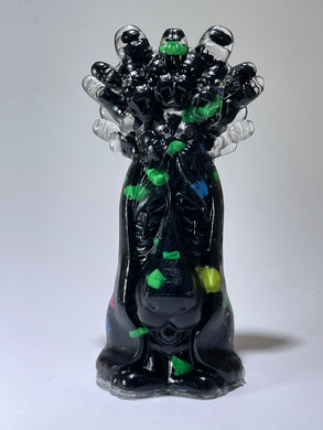 His Majesty, the King: Resin Cast Black and Neon Stones