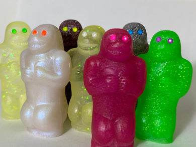 Resin Cast Happy Ape: Choose Your Own Smile