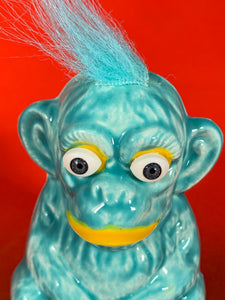 Crazy Blue Monkey