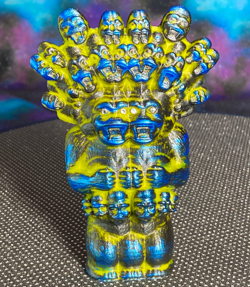 Mega God Ape Lord Freak: green/gold/blue