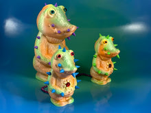 Load image into Gallery viewer, Metallic Pastel Croc Headed Monsters
