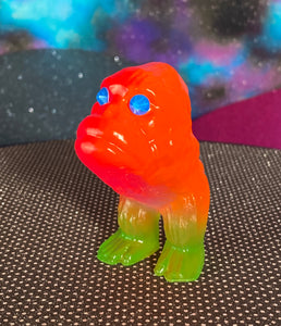 Ape Hopper: Fluorescent Pink/Orange/Green