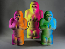 Load image into Gallery viewer, Day glow fuzzy ape gang, large.