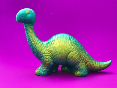 Happy Bronto: Yellow and blue