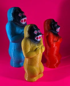 Blue, Yellow and Red Chained Danger Apes