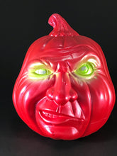 Load image into Gallery viewer, Red Snarl Pumpkin