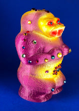 Load image into Gallery viewer, Super squat Ape with 44 rhinestones and a giant eyeball on his back