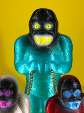 Load image into Gallery viewer, Blue, Red and White Translucent Chained Danger Apes