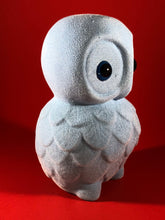 Load image into Gallery viewer, Flocked Owl - Powder Blue