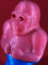 Load image into Gallery viewer, Glitter Danger Ape, Blue and Pink