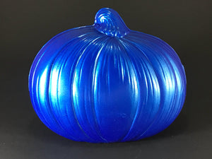 Traditional Jack O Lantern: Blue
