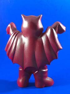 Bat Thing red with silver