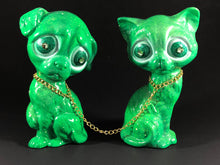Load image into Gallery viewer, RGB Sad Dog and Sad Cat (Green)