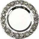 Kiddush Cup Tray: Silver Plated Grape Design