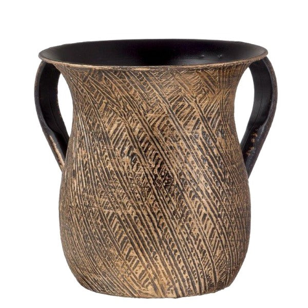Wash Cup: Gold Antique