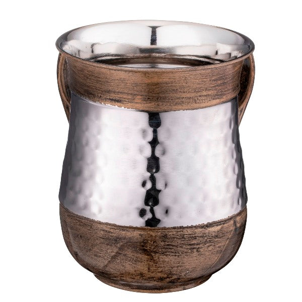 Wash Cup Stainless Steel Brushed Gold