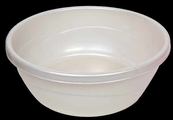 Wash Bowl: Plastic - Pearl
