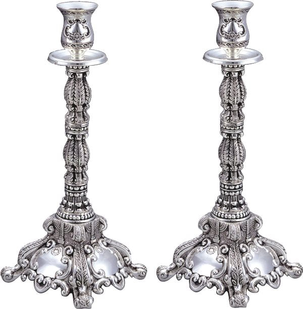 Candlestick Set - Silver Plated