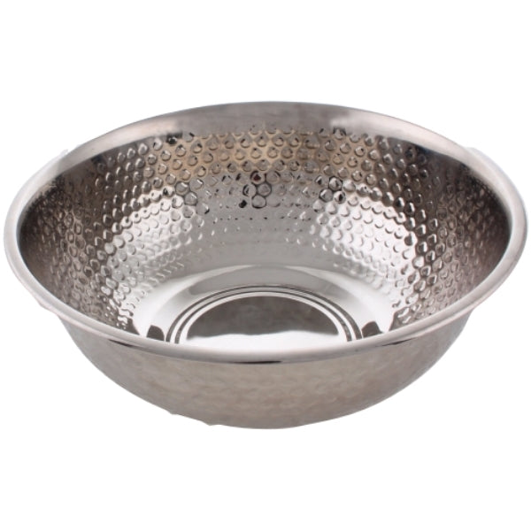 Wash Bowl: Stainless Steel Hammered