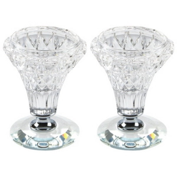 Candlestick Set: Crystal