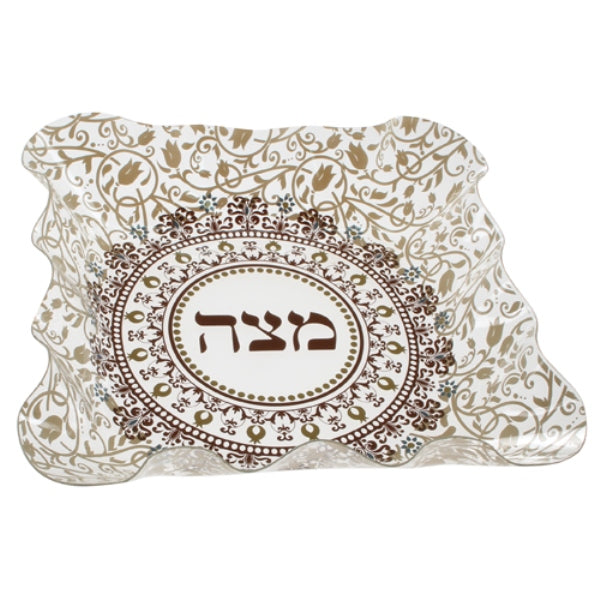 Matzah Holder: Plastic Pomegranate Design