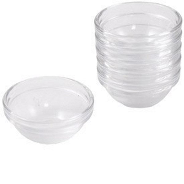 Pesach Seder Dishes: Glass (Set of 6)