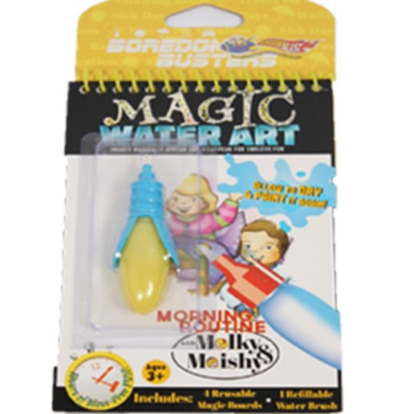 Magic Water Art - Morning Routine