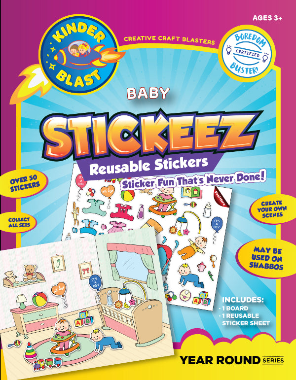 Reusable Stickers - Baby